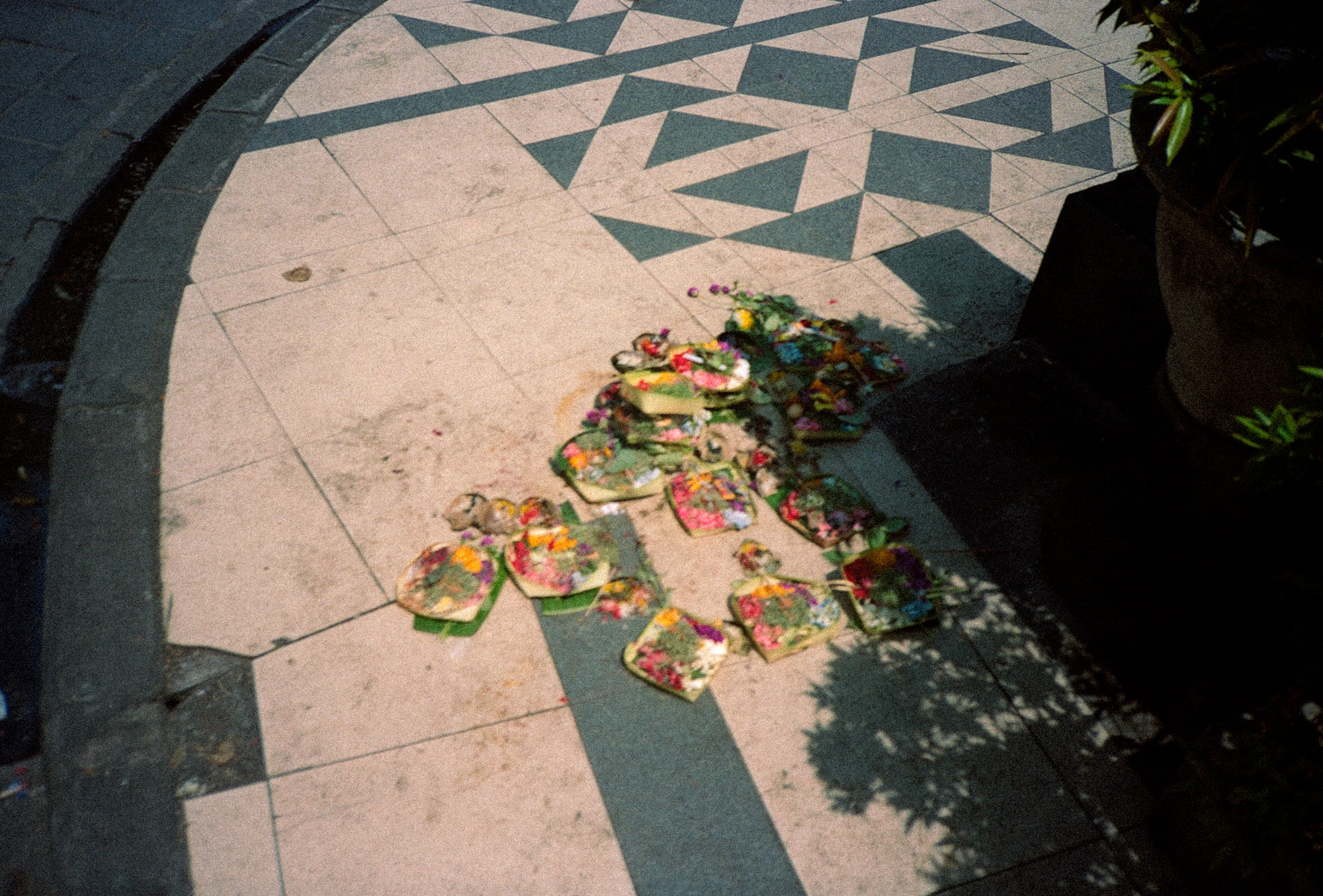 Religious Offerings, Bali, Eastern Travels, Photography By Ioannis Koussertari