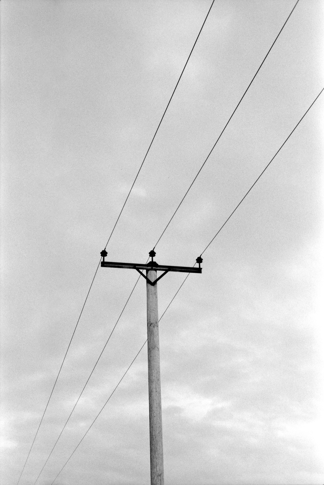 Phone Line, Observations Series, Photography By Ioannis Koussertari