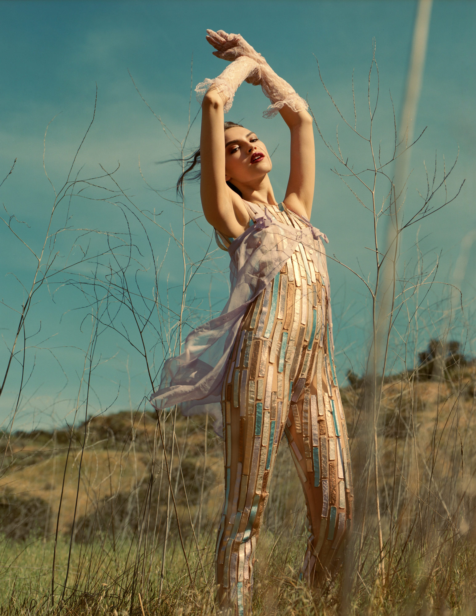 Into The Wild, Cristal Chavez in  fashion editorial for Promo Magazine by Ioannis Koussertari