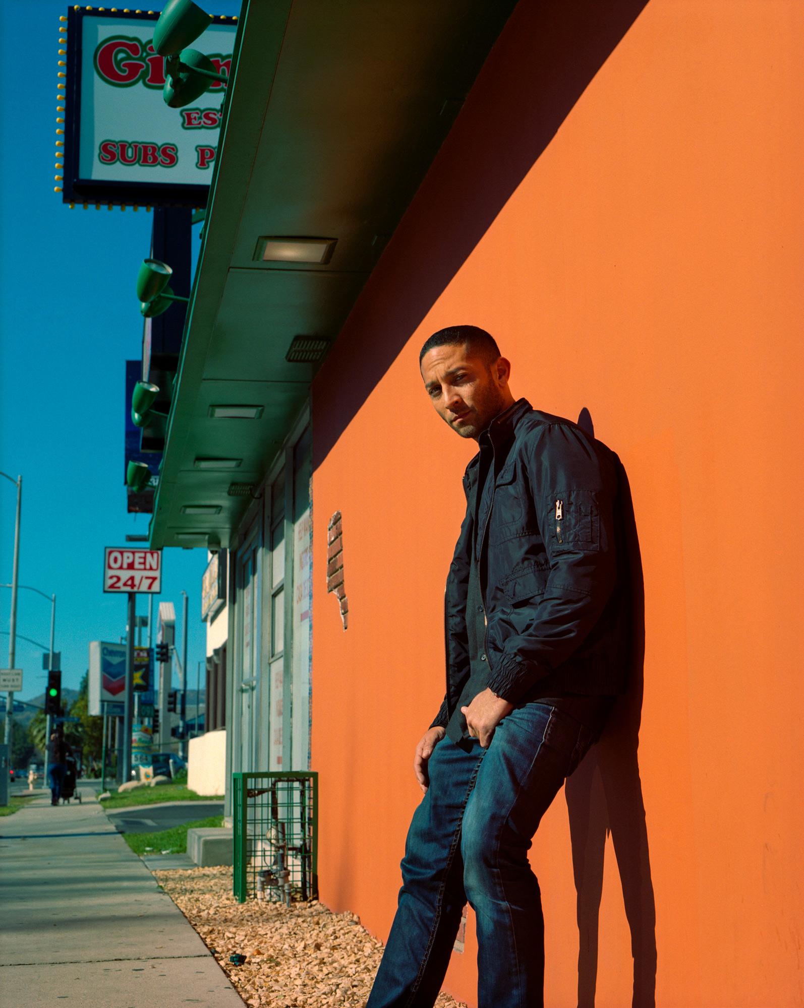Brent Guiterriez, Actor, Los Angeles, Photography By Ioannis Koussertari.