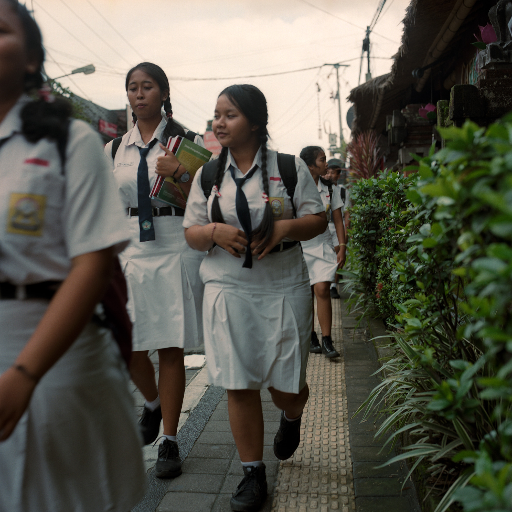 School girls, Ubud Bali, Eastern Travels, Photography by Ioannis Koussertari