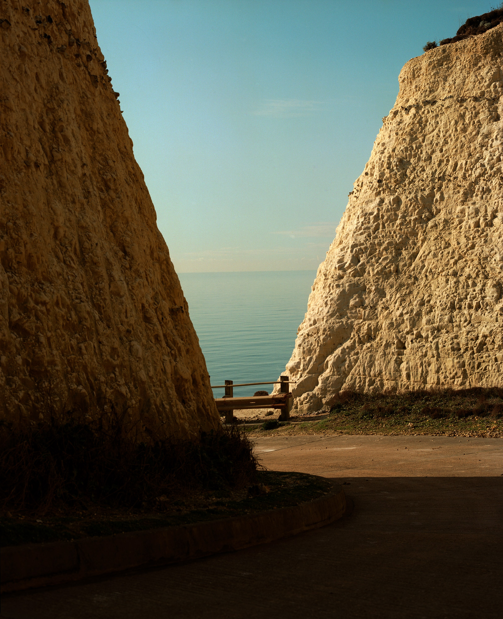 Between Two Cliffs, Peacehaven, Observations Series, By Ioannis Koussertari