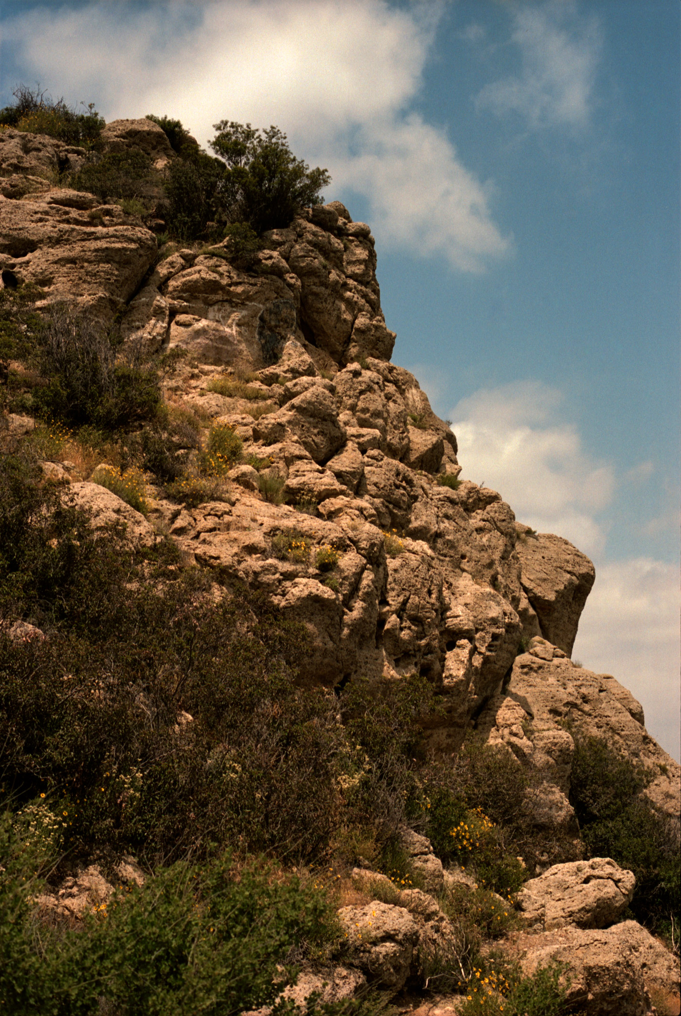 Rock Formations, West Hills, LA, Omg Your English, Photography by Ioannis Koussertari