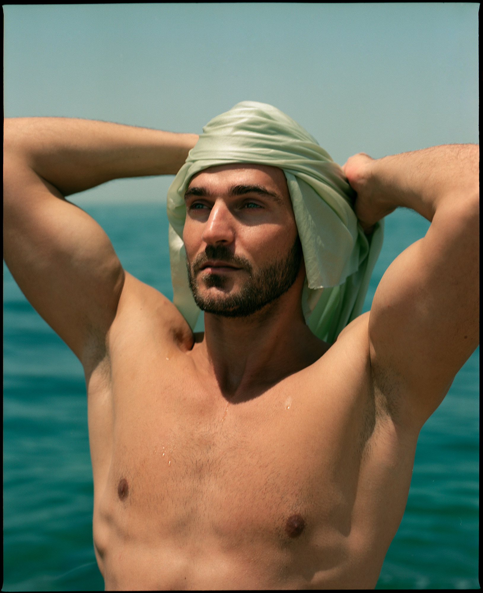 Slavko Moljac, in The Odyssey Of Mr Crusoe feature for Lewis Magazine, Photography By Ioannis Koussertari