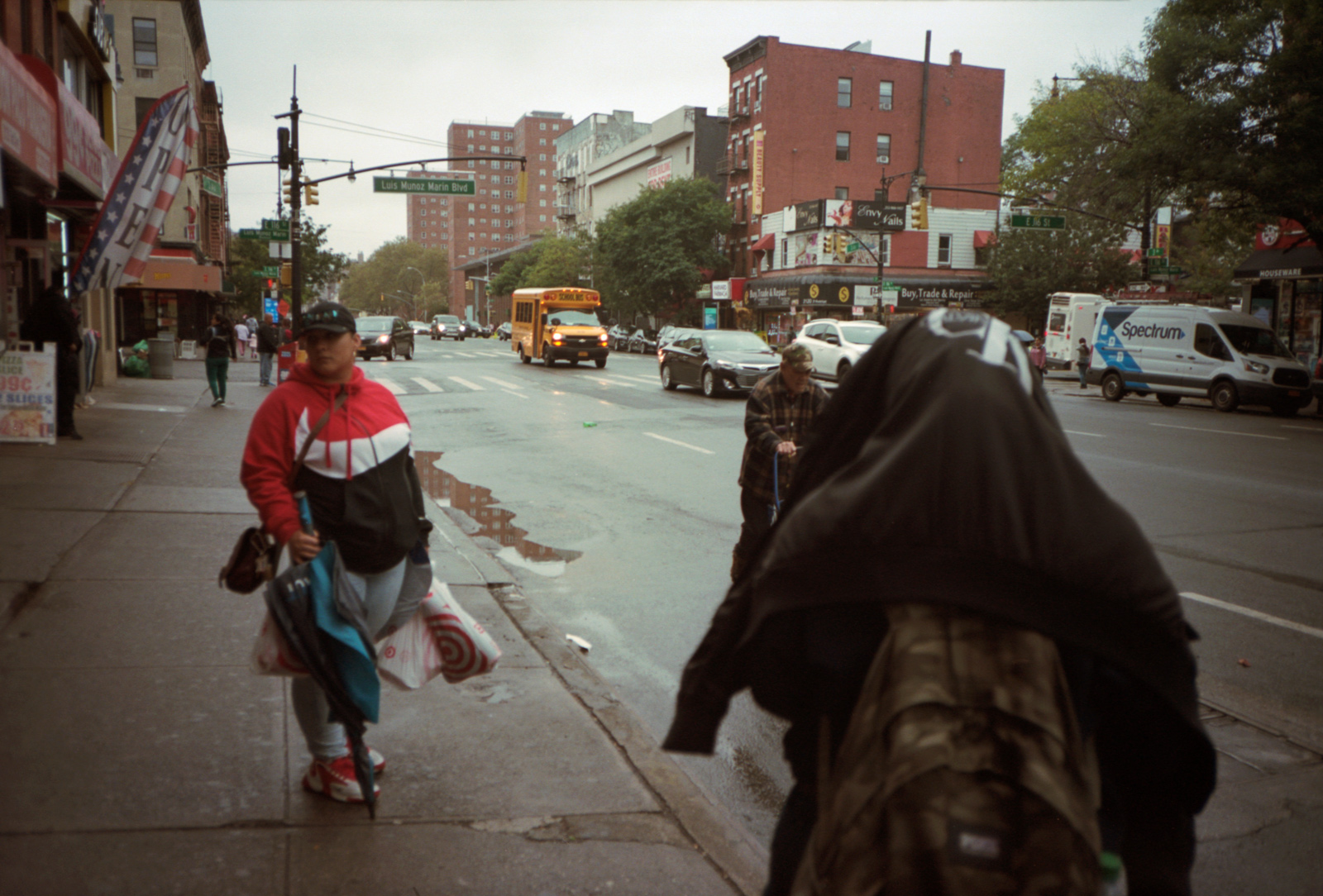 Under Cover, a woman hiding in East Harlem. Lonely New York Series. Photography By Ioannis Koussertari.