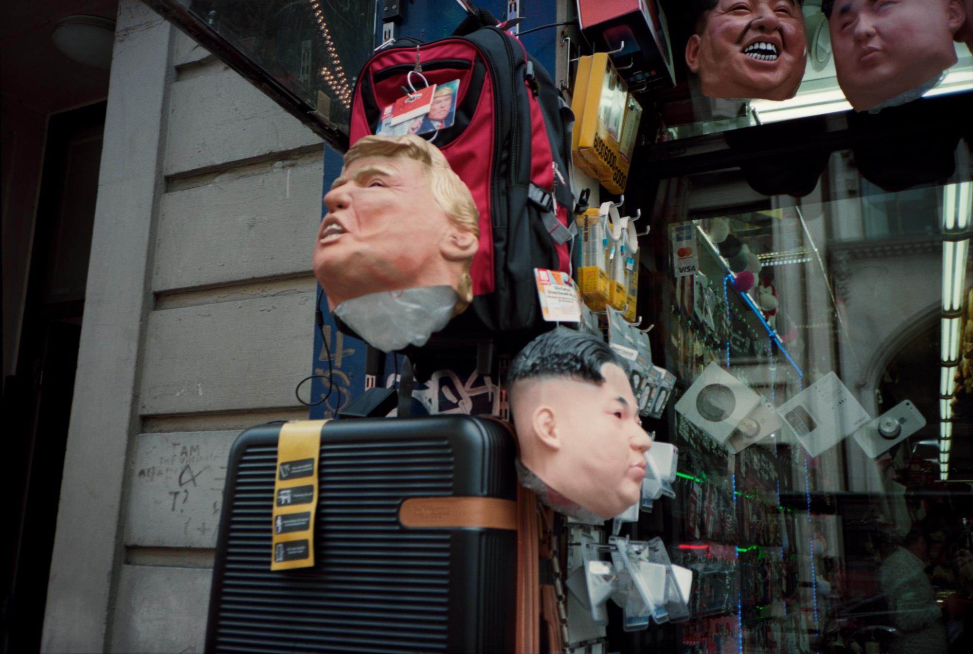 Political Humour, Donald Trump, kim Jong Un, Observations Series, Photography by ioannis Koussertari