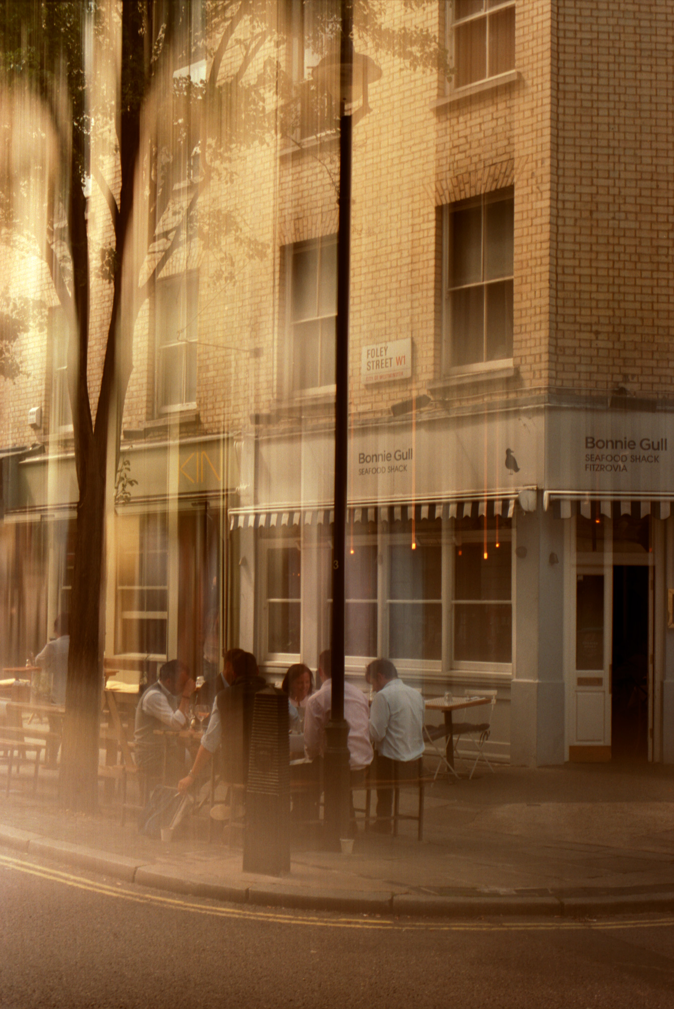Foley Street, London, Observations Series Photography By Ioannis Koussertari