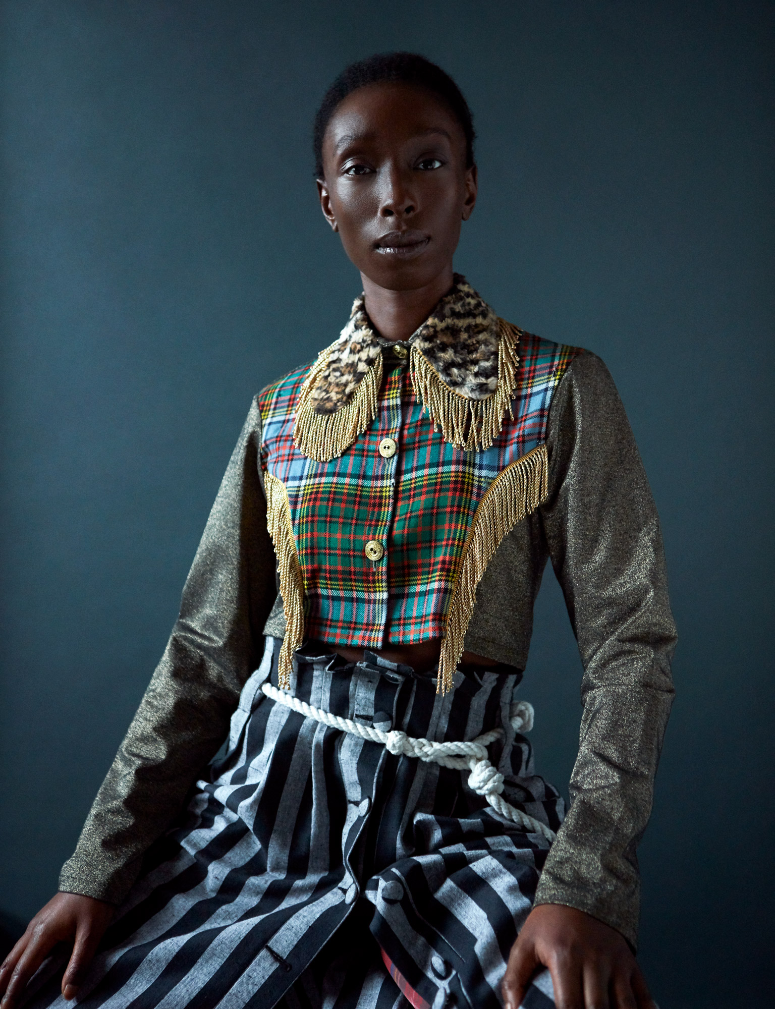 Eunice Olumide, Portrait for the V&A Gallery Scotland.