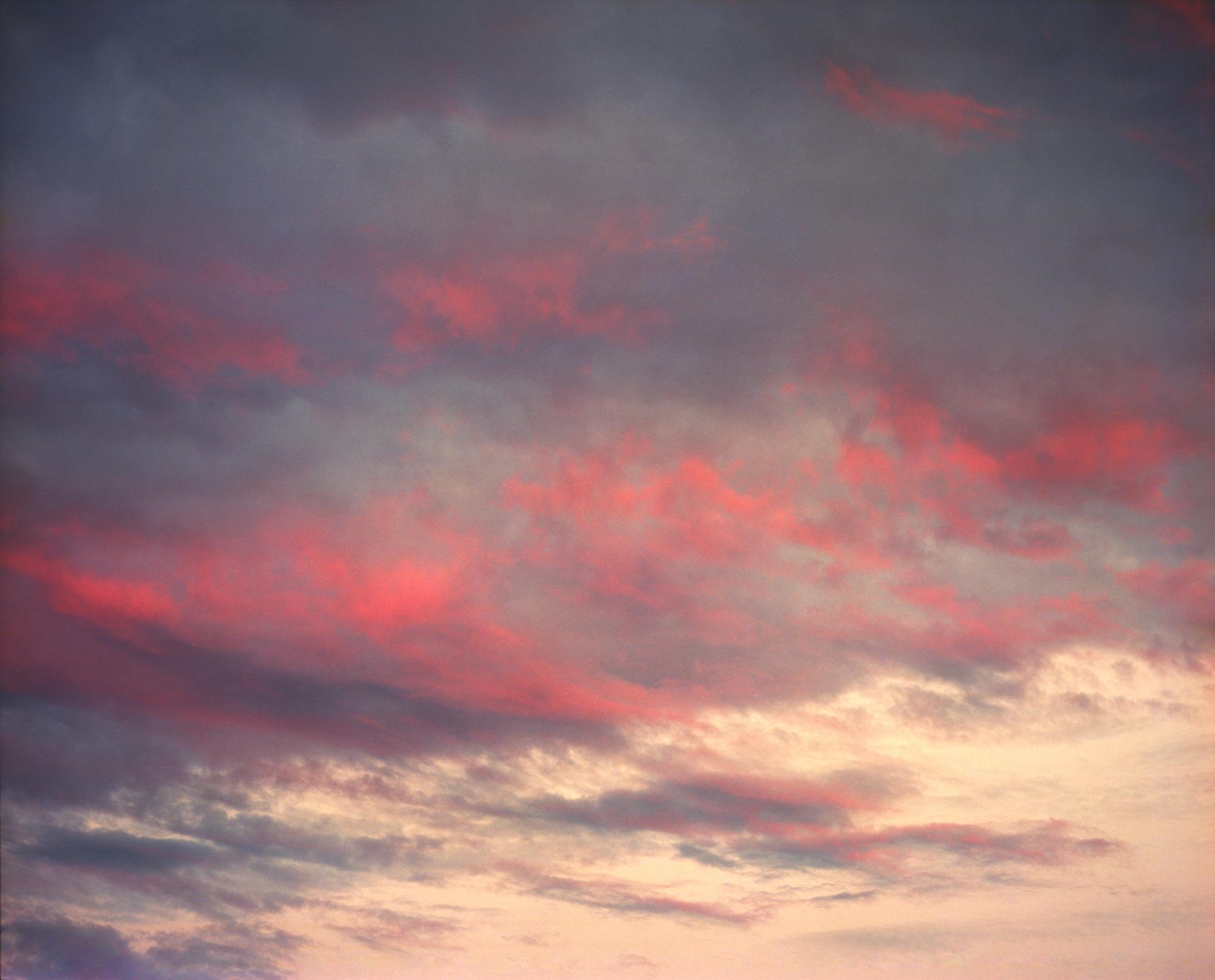 Burning Sunset, red skies observation on film by ioannis koussertari.i