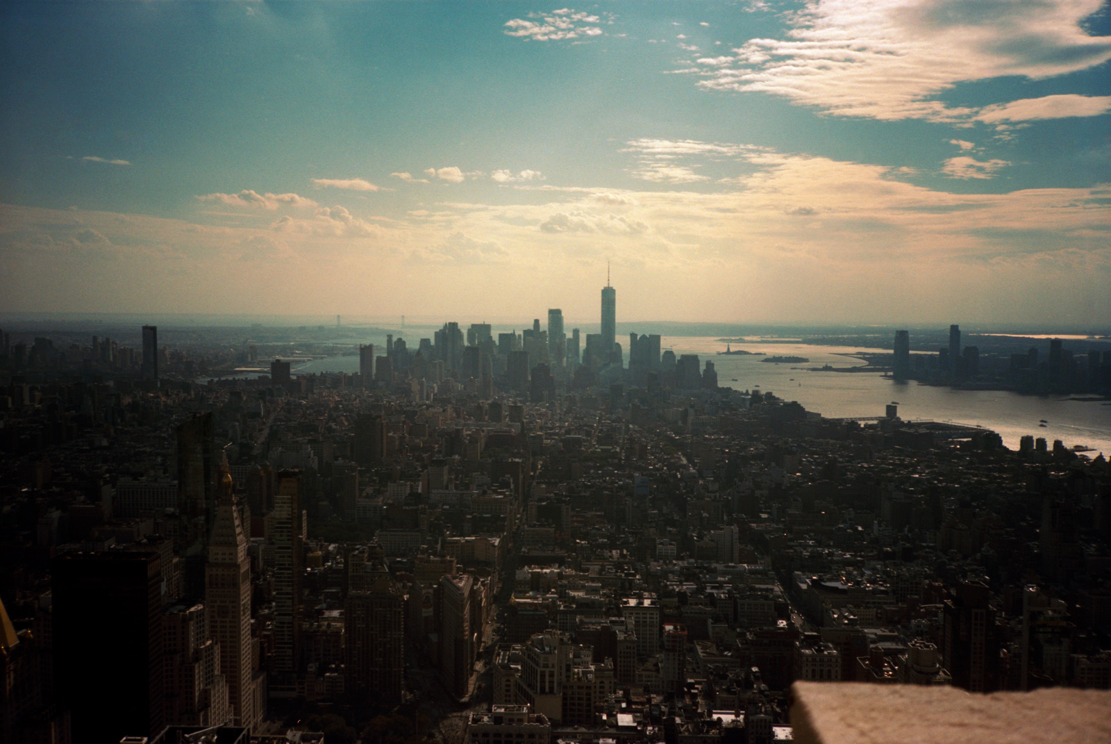 Empire State Building Skyline, Lonely New York Series By Ioannis Koussertari.