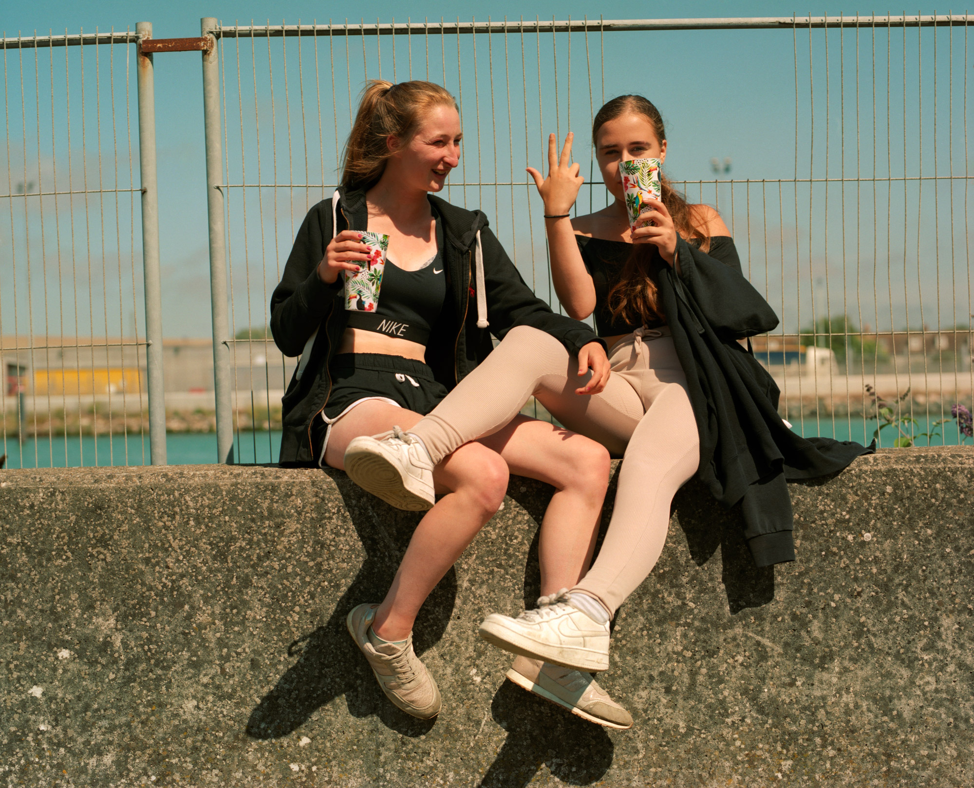 Two Drunk Girls, Observations Series, Photography By Ioannis Koussertari
