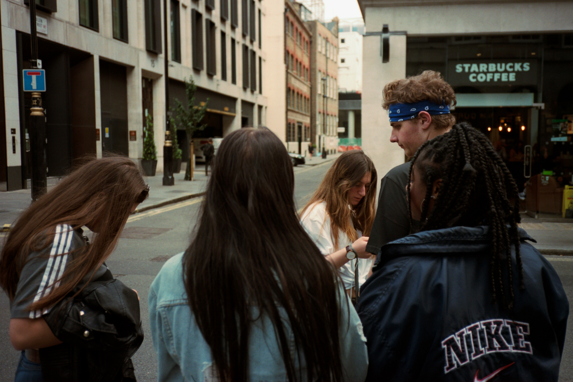 Teens, London, Observations Series, Photography By Ioannis Koussertari