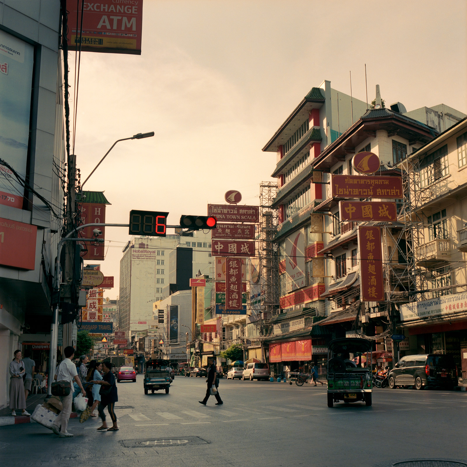 Street scene in Chinatown, Bangkok, Thailand, Eastern Travels, Photography by Ioannis Koussertari