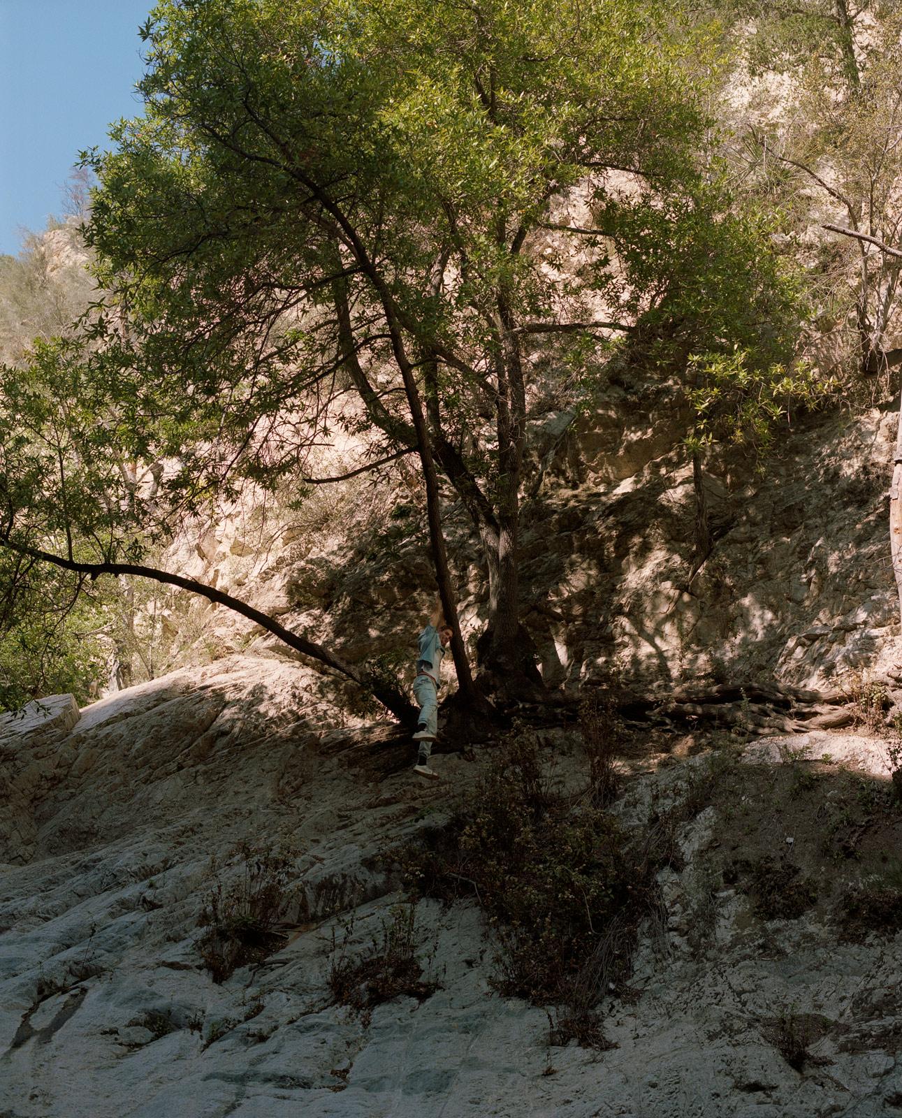 The Road To Switzer Falls, Photography By Ioannis Koussertari 5 friends journey to Switzer Falls California, featuring Shayne Davis.