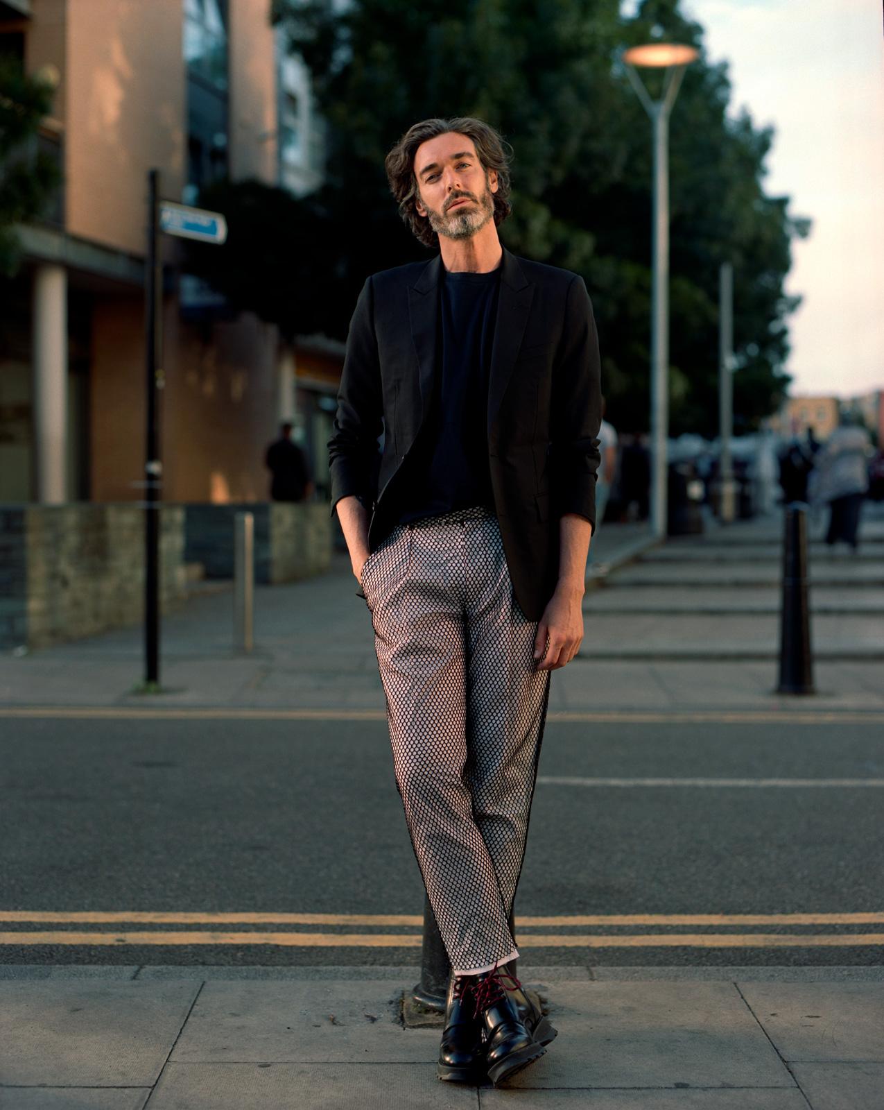 Richard Biedul, PAPER Magazine, Photography by ioannis koussertari, Styling Adele Cany.