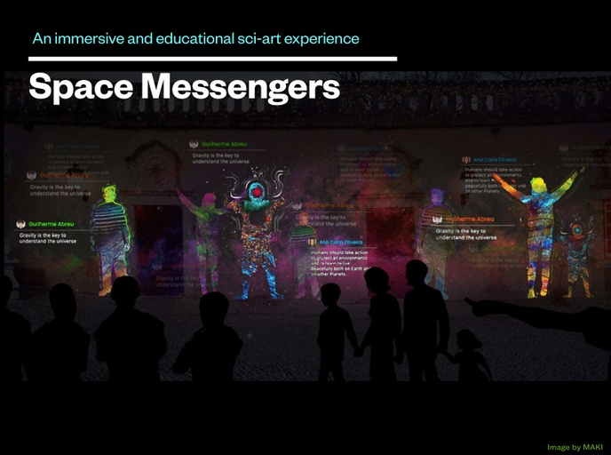 Space Messengers: when science and art collaborate