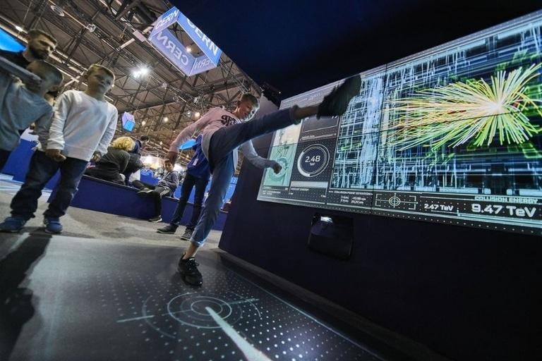 LHC Interactive Tunnel (LIT) - Proton Football