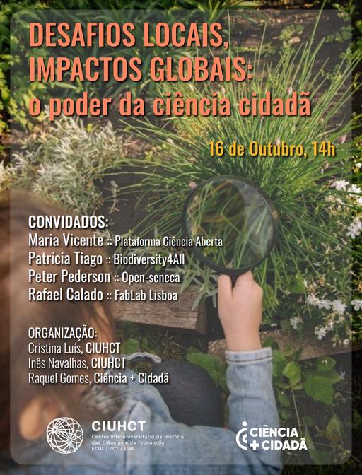 Desafios locais, Impactos globais: o poder da ciência cidadã