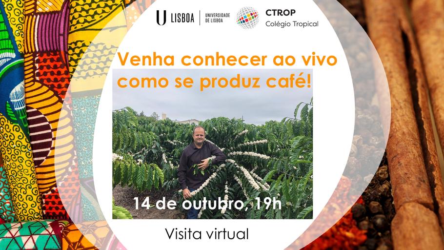 Visita virtual 'Venha conhecer ao vivo como se produz café'
