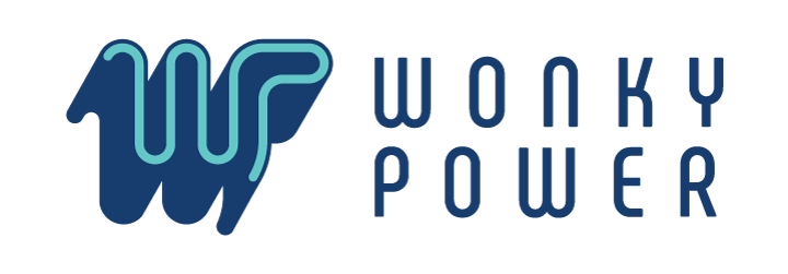 Wonky Power Logo