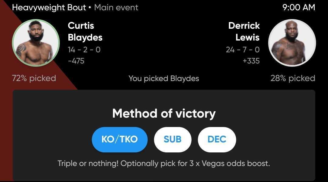 Adam Martin picks Curtis Blaydes to win by TKO over Derrick Lewis at UFC Vegas 19