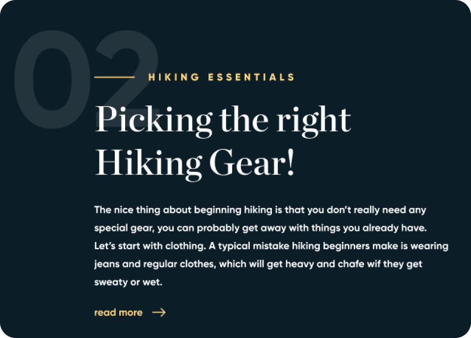 Sample MNMT landing page text example.