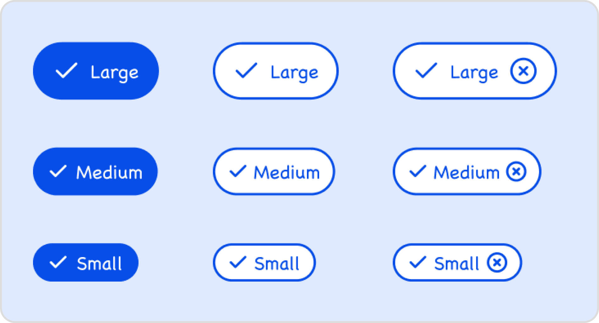 Sample buttons for lo-fi wireframe kit.