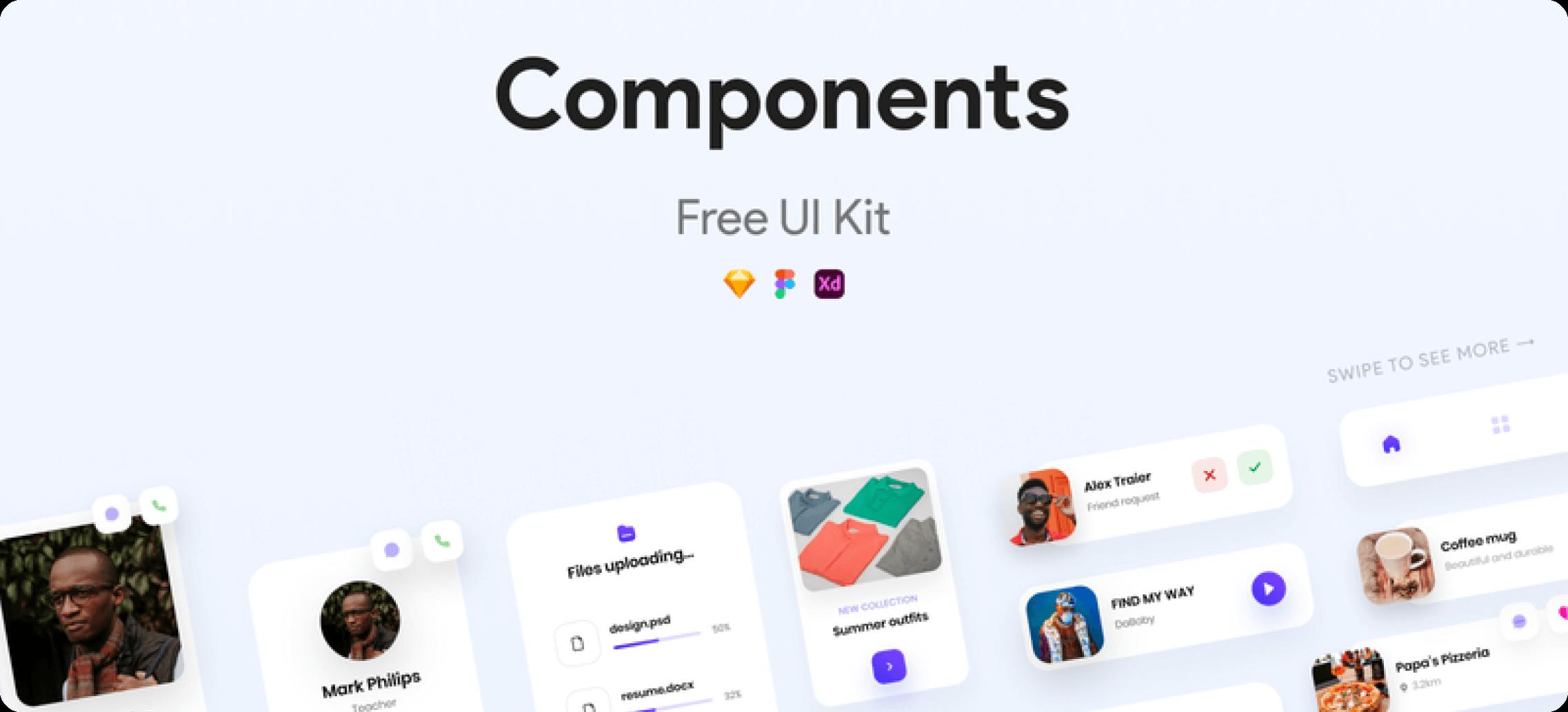 Components UI sample components.