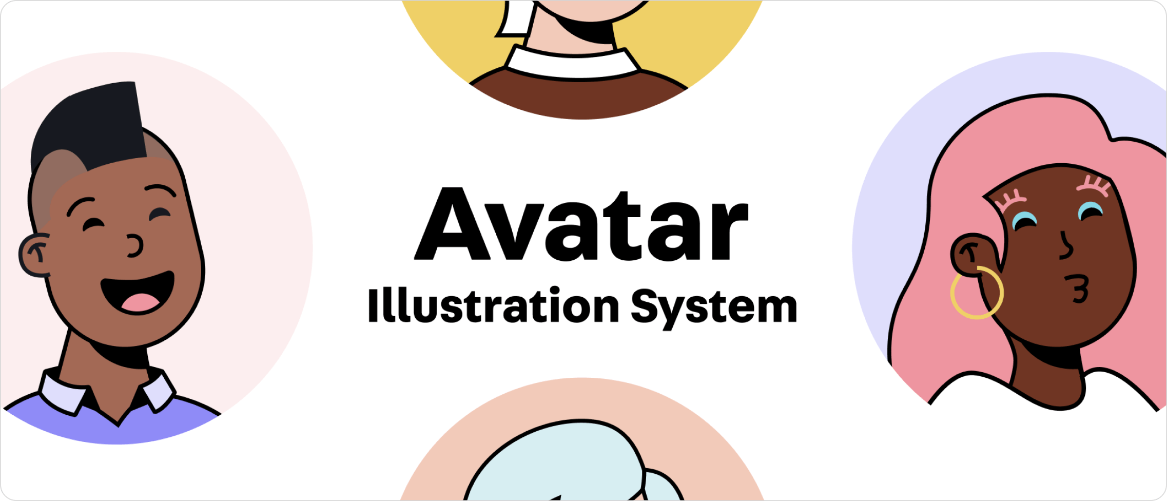 Avatar Illustration System examples.
