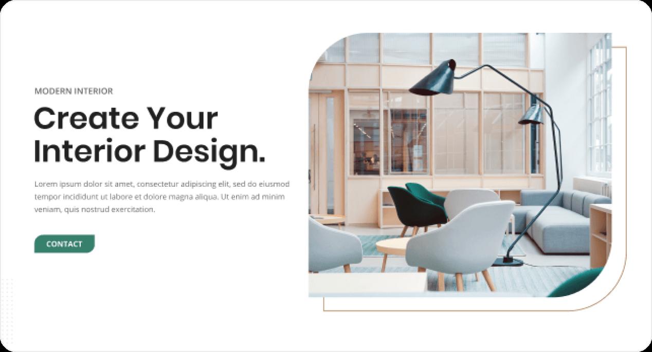 Create your interior design screenshot.