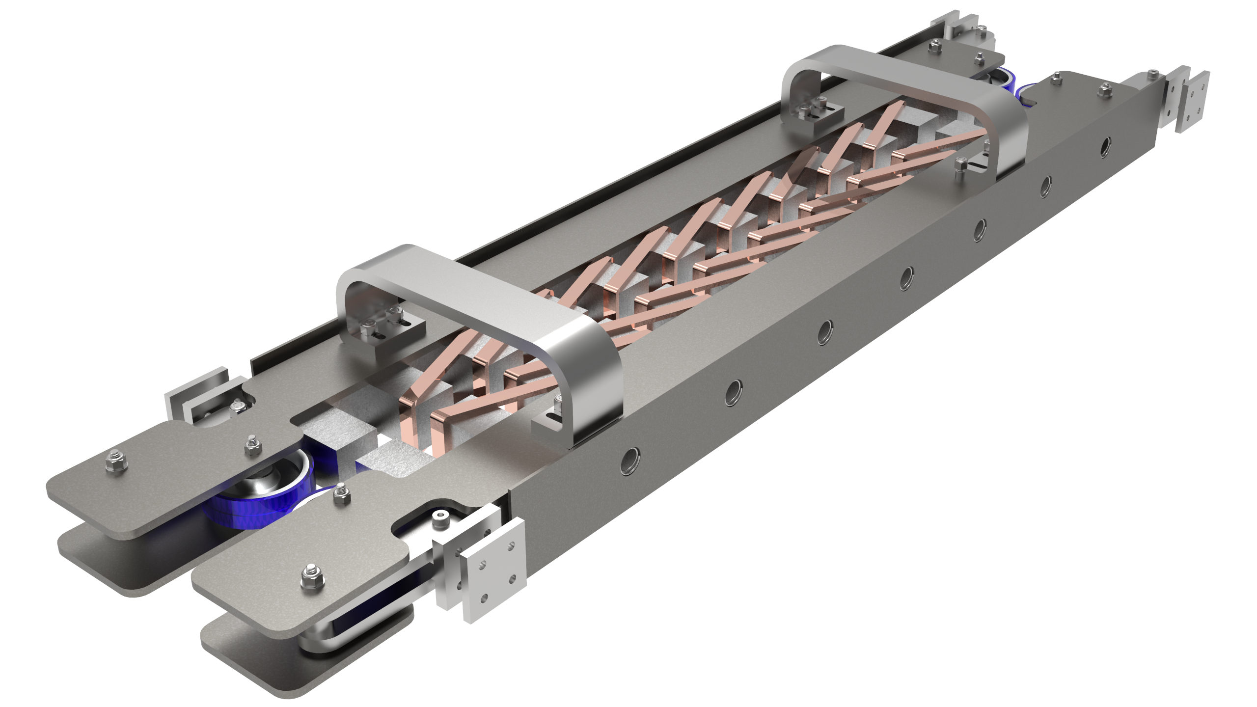 render of the linear induction motor