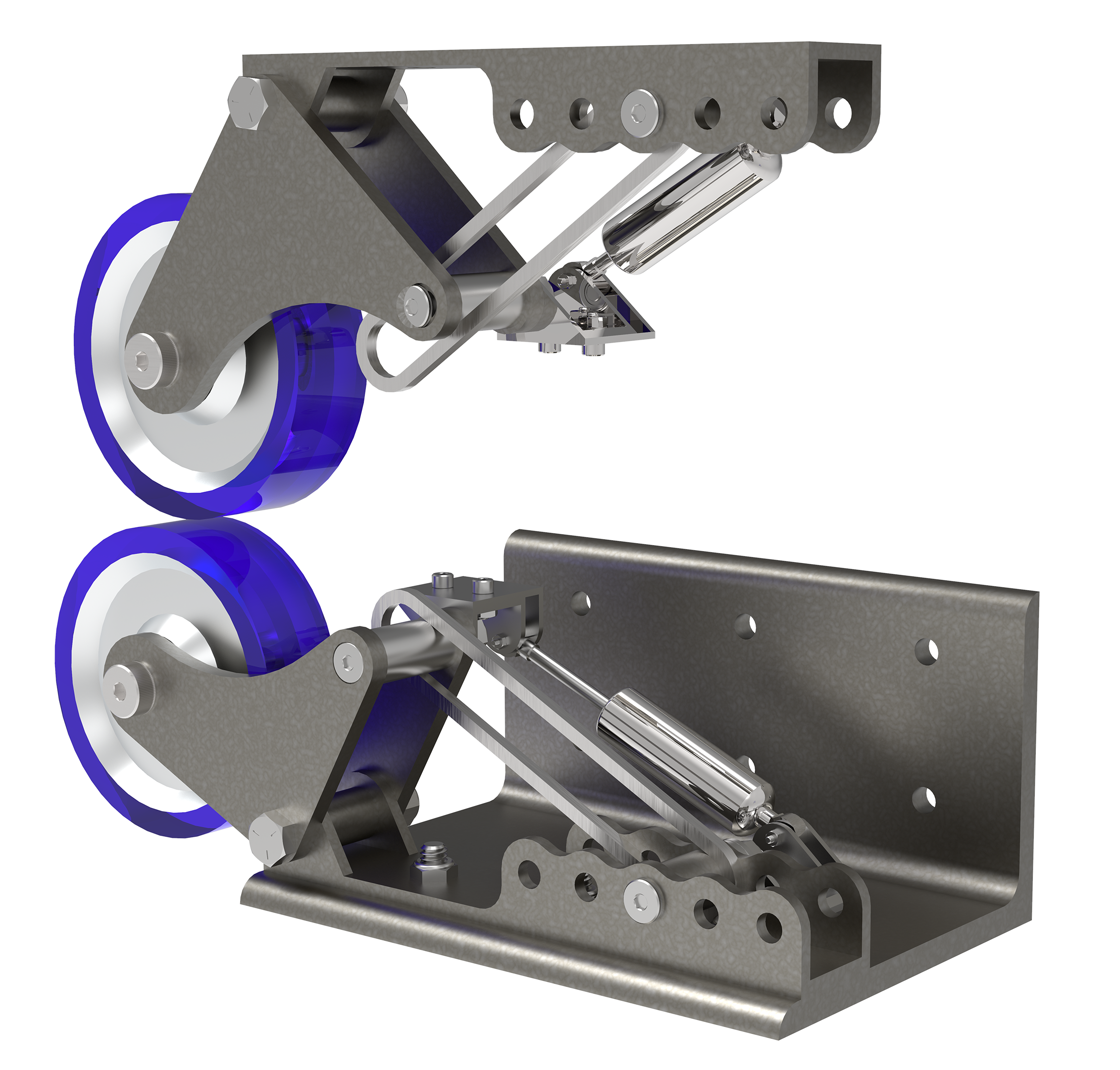 render of the stability wheels