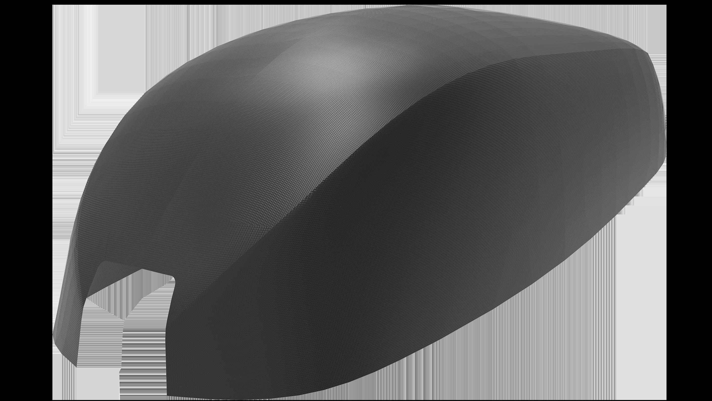 render of the pod fairing