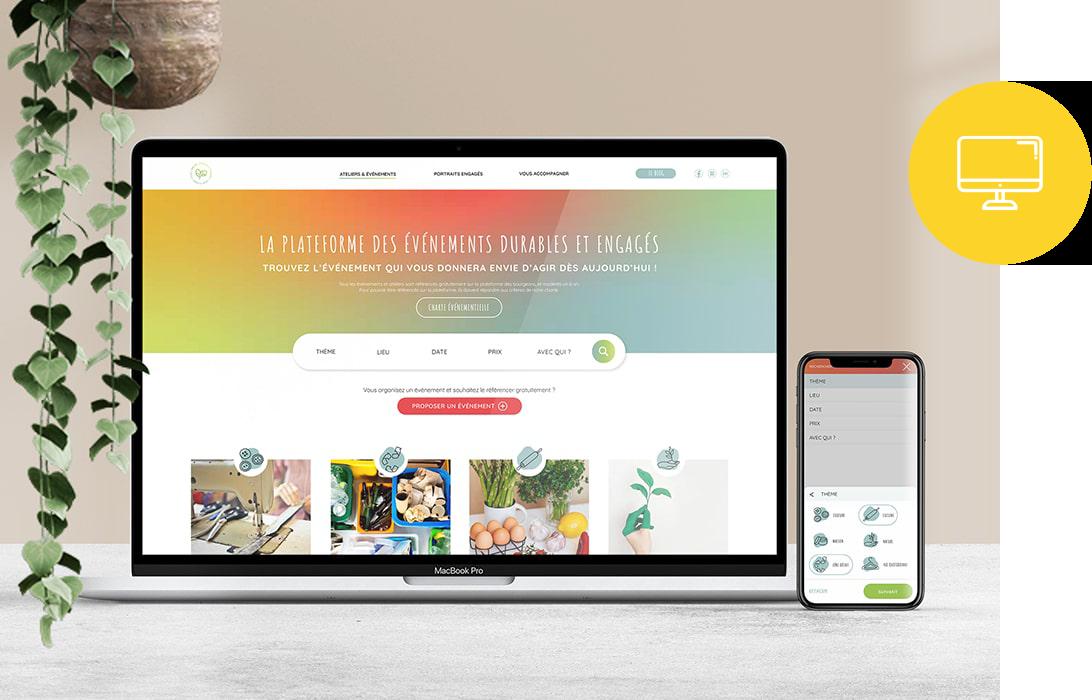 webdesign ux ui - site internet - web - maquettes graphique - site ecommerce - vitrine - rédaction - développement - naoms