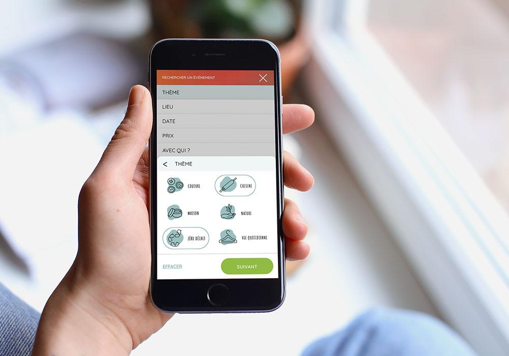 Naöms les bourgeons ui webdesign mobile responsive