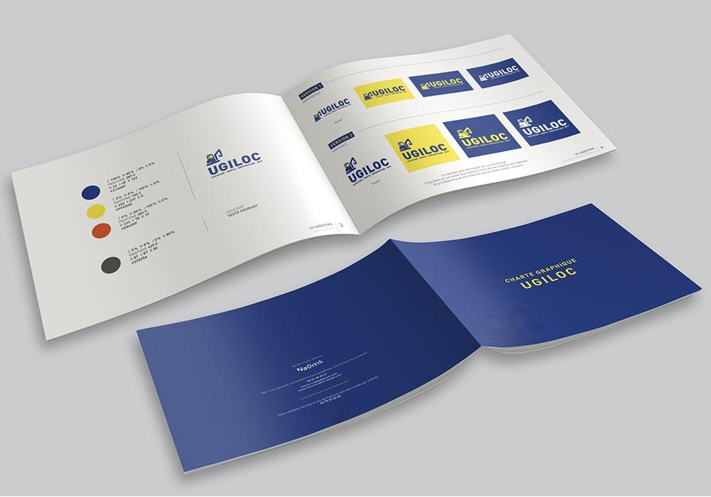 Naöms ugiloc brochure dépliant flyer