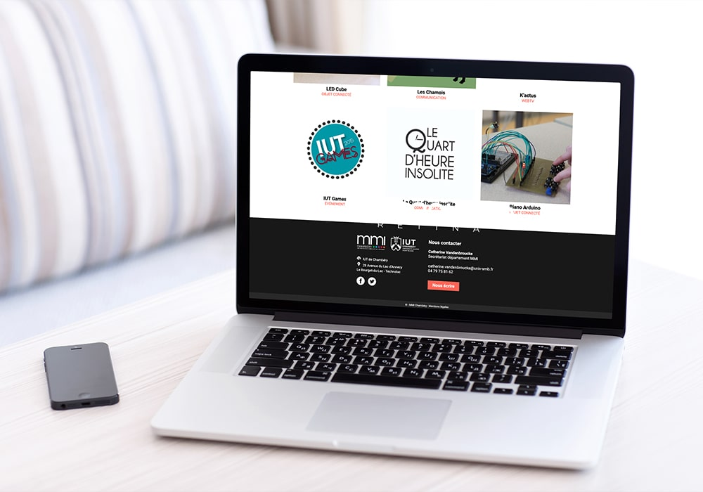 Naöms communication albertville mmi chambéry métiers du multimédia et de l'internet BUT DUT logo identité visuelle charte graphique webdesign ui site web