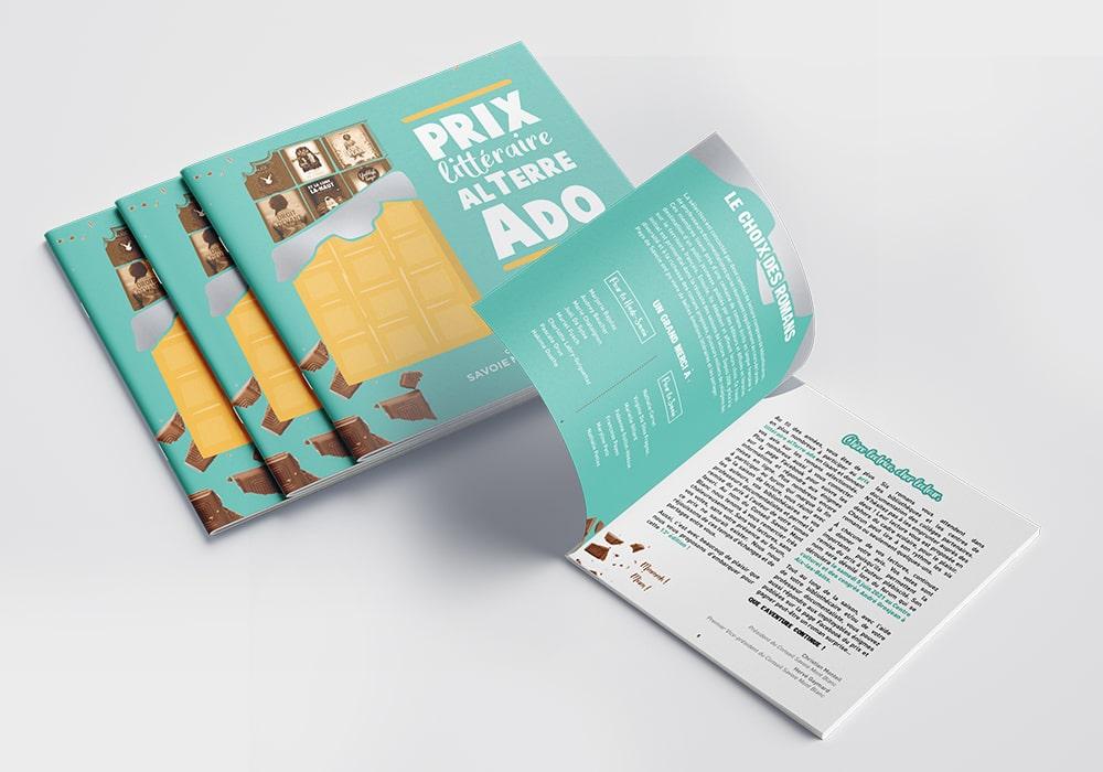 Naöms Savoie-biblio calendrier dépliant communication prix alterre ado