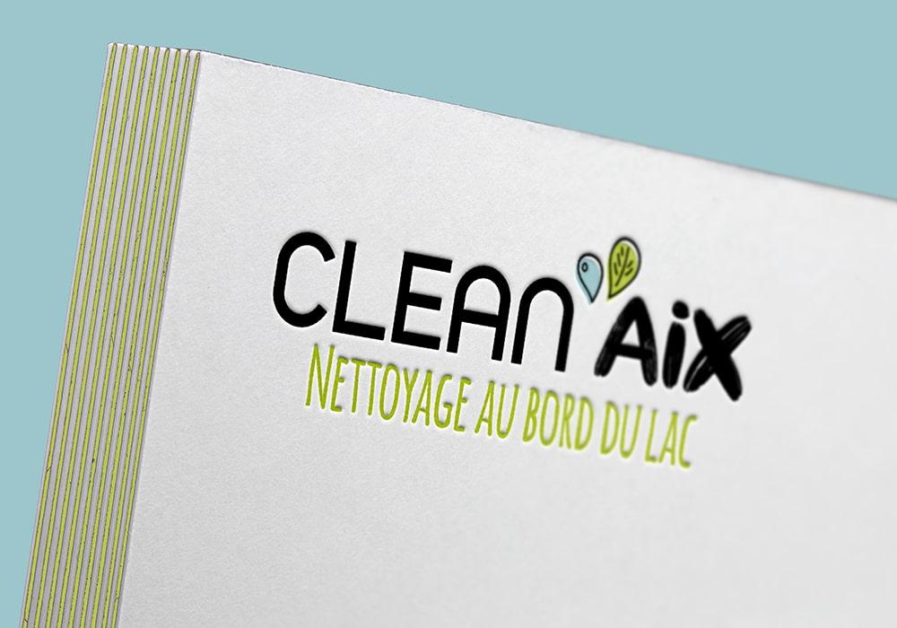 logo clean'aix aix-les-bains