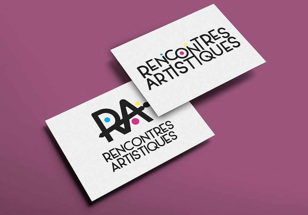 Naöms graphiste communication Albertville logo rencontres artistiques fat ugine