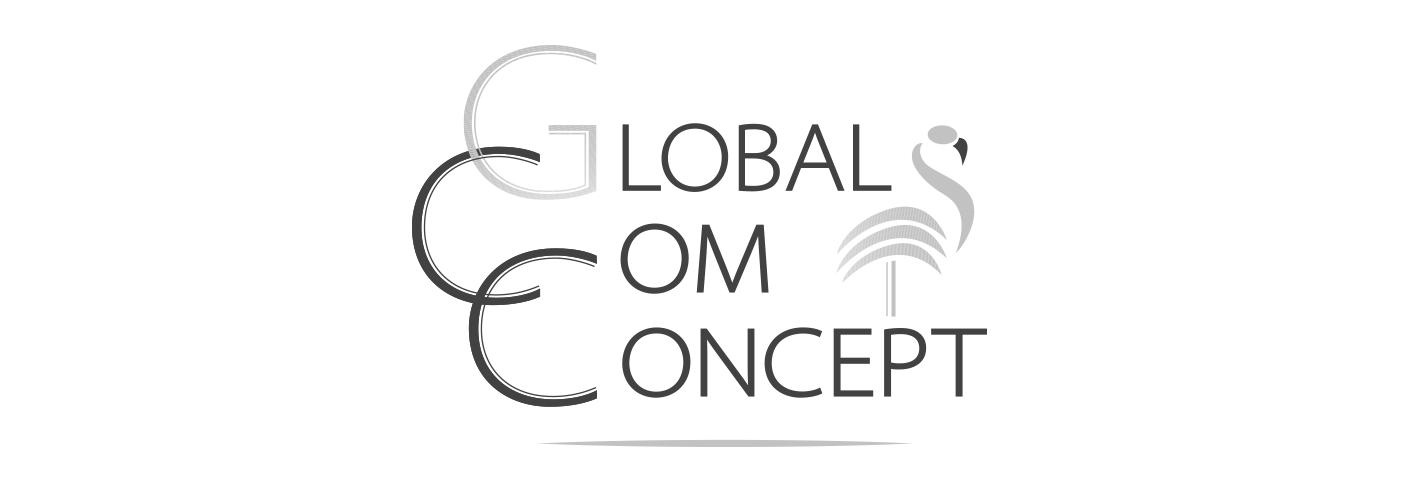 logo global com concept