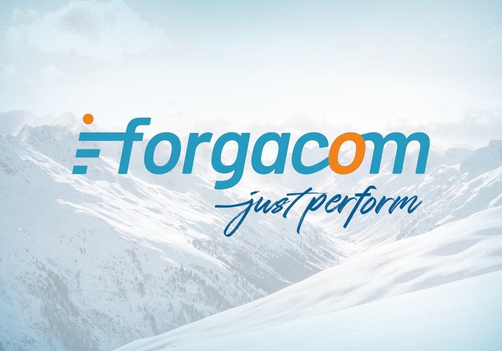 Naöms graphiste communication Albertville Logo Forgacom