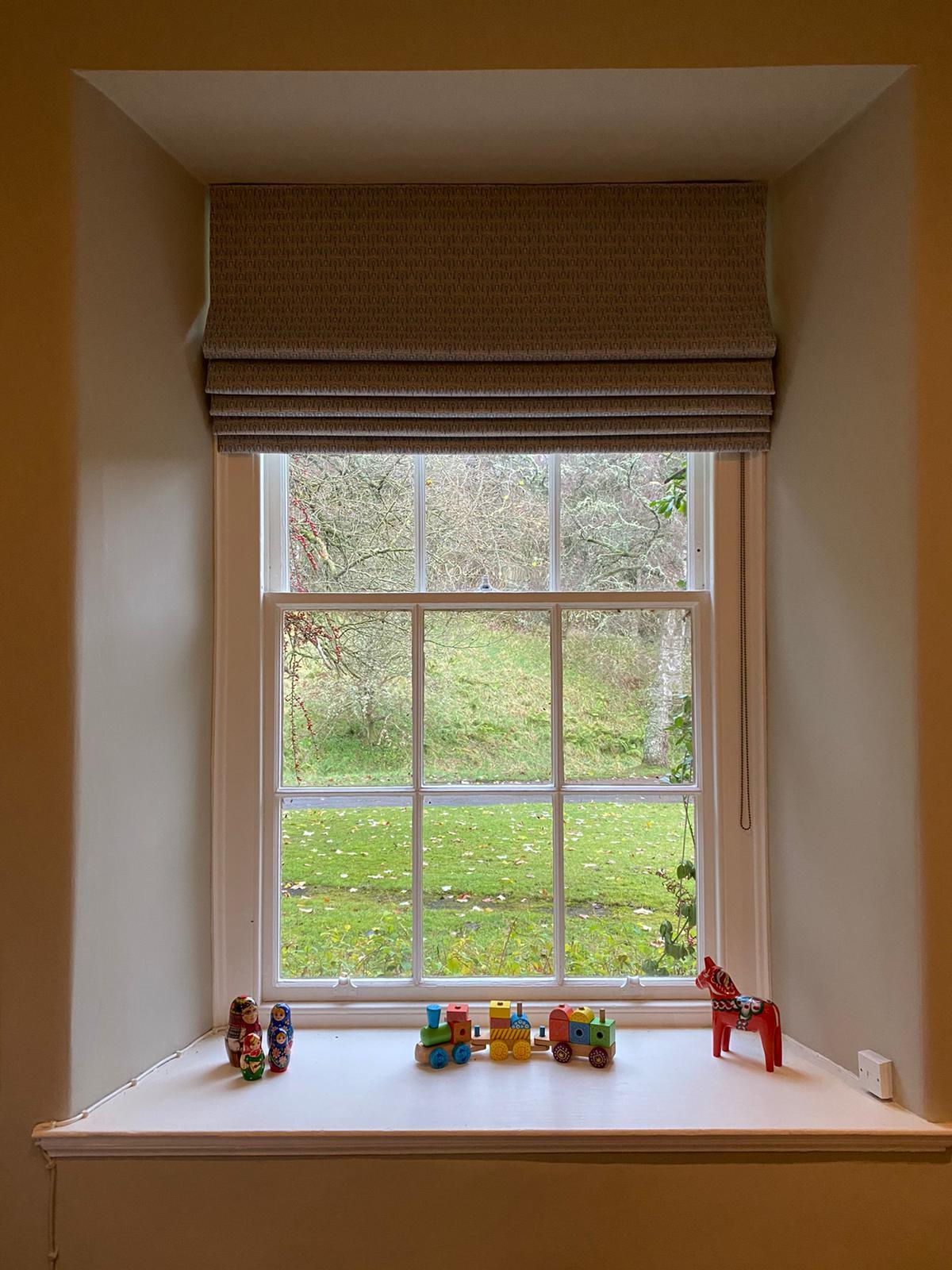Playroom blinds