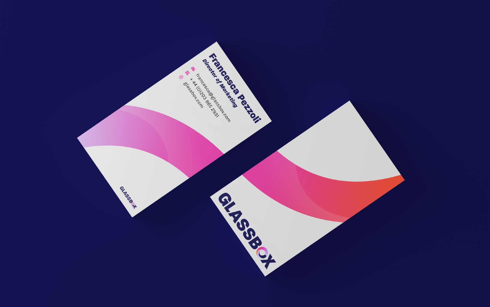 glassbox business cards