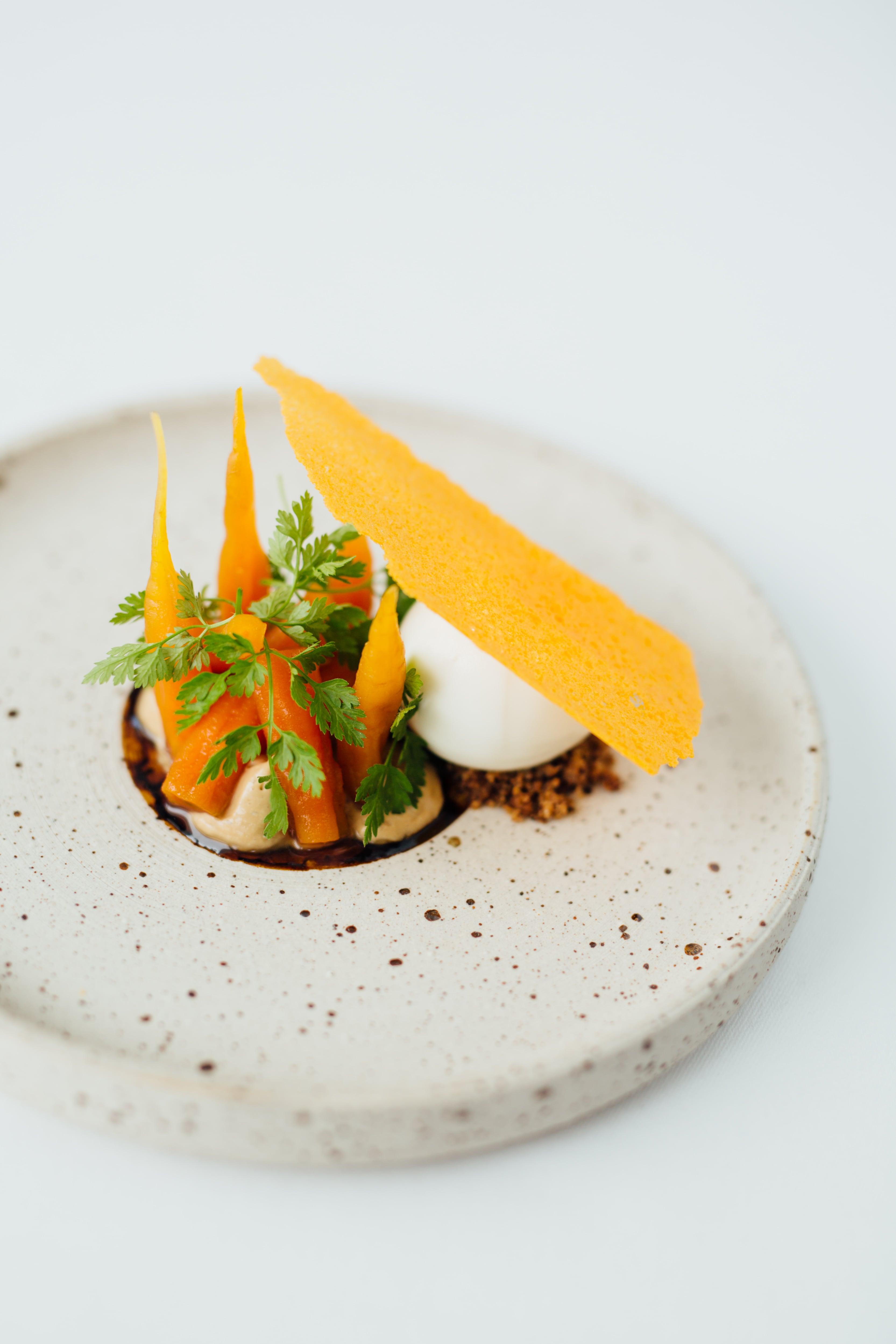 Michelin restaurant food