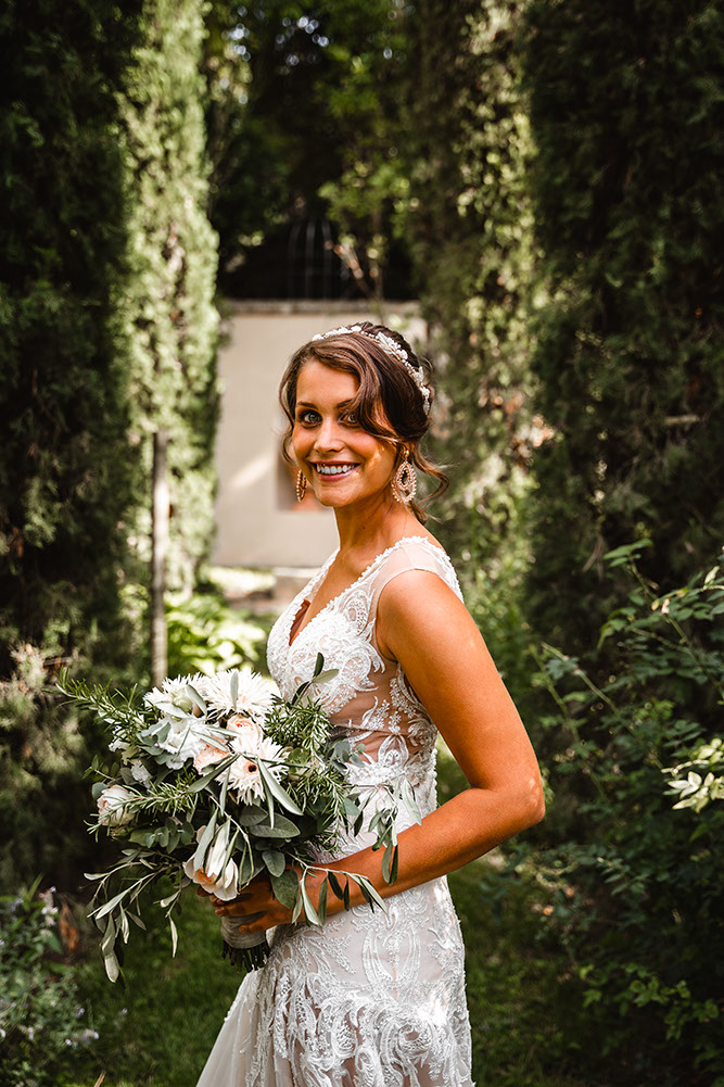 Paarfoto in der Orangerie im  Morrhof