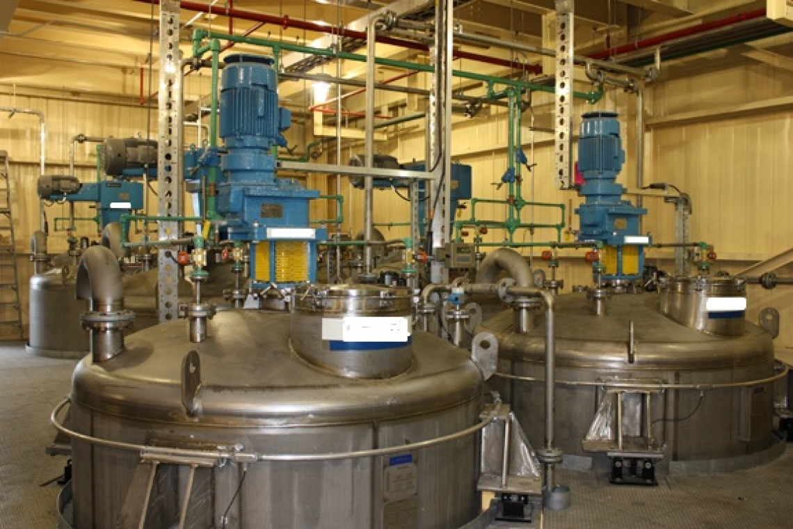 Bayer CropScience Multiple Train Liquid Formulation Plant