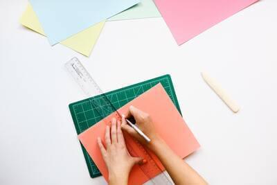Design Vorlage zeichnen