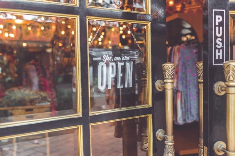 Laden geöffnet