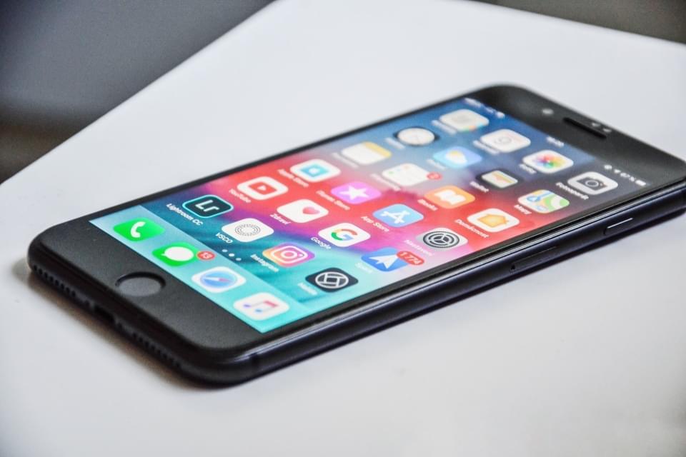 Hybride App auf iPhone